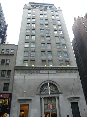 Warren and Wetmore - Steinway Hall on 57th Street, New York City, 1925