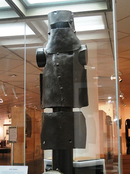 Kelly Gang armour, at the Victoria Police Museum