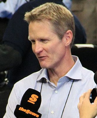 2015 NBA All-Star Game - Image: Steve Kerr 2013