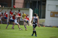 Steven Ryan of the Paris Cockerels performs a clearance kick during the 2013-2014 Grand Final vs. the Toulouse Hawks.png