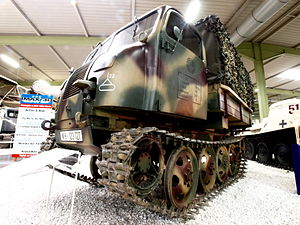 Steyr RSO01 tracked tractor, RSO stand for Raupenschlepper Ost (tracked tractor East) at Sinsheim pic1.JPG