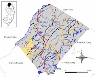 Stillwater Township, New Jersey - Image: Stillwater twp nj