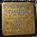 Stolperstein Ahaus Wallstraße 2 Miriam Cohen.jpg