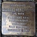 Stolperstein Bocholt Ludgerusstraße 4 Emanuel Mühlfelder.jpg