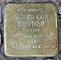 Stolperstein Damaschkestr 30 (Charl) Werner Karl Sobotker.jpg