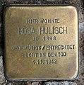 Stolperstein Eisenzahnstr 66 (Wilmd) Rosa Hulisch.jpg