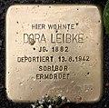 Stolperstein Essener Str 9 (Moabi) Dora Leibke.jpg