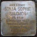 Stolperstein Gießen Nordanlage Sonja Sophie Salomon.JPG