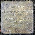 Stolperstein Joachim-Friedrich-Str 54 (Halsee) Werner H Kaufmann.jpg