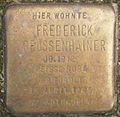 Stolperstein Johnsallee 63 (Frederick Geussenhainer) in Hamburg-Rotherbaum.JPG