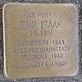 Stolperstein Köln Theodor-Heuss-Ring 4 Emil Isaak.jpg