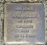 Stolperstein Offenburg Max Adler.jpg
