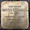 Stolperstein Peter-Hille-Str 17 (Frihg) Martin Bernhard.jpg