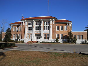 Stone County Courthouse in Wiggins