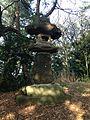 Stone lantern in Nishi Park.jpg