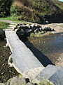 Stone slab bridge over stream at Ceibwr Bay - geograph.org.uk - 579980.jpg