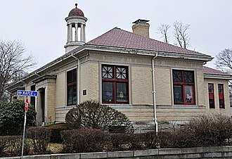 Stoneham Public Library - Image: Stoneham MA Public Library