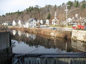 Wilton, New Hampshire - Image: Stony Brook NH