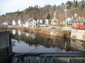 Wilton, New Hampshire - Image: Stony Brook NH