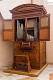 Strasbourg Sainte-Madeleine orgue positif André Silbermann 1719 a.jpg