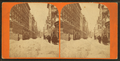 Street view after large snowstorm, by John B. Heywood.png