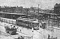 Streetcar at Lechmere station. July 1922.jpg