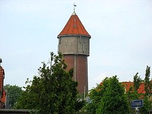 Struer, Denmark - The old water tower in Struer