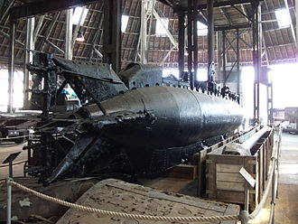 XE-class submarine - XE8 stern