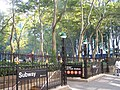 Subway Stop at the New York Public Library - panoramio.jpg