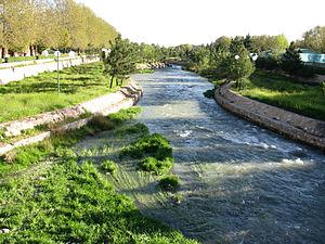 Sufi Chay - Sufi Chay River in Maragheh.