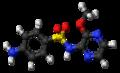 Sulfalene molecule ball.png