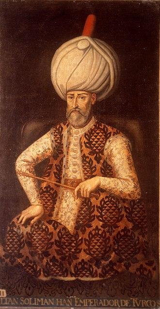 Great Siege of Malta - Image: Sultán Solimán (Palacio del Senado de España)