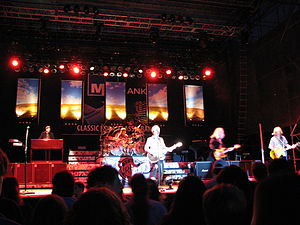 REO Speedwagon performing at Milwaukee's Summe...