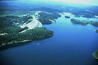 Summersville Lake - Image: Summersville Lake