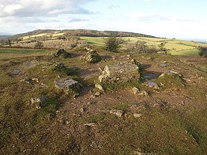 Cothelstone - Image: Summit of Cothelstone Hill geograph.org.uk 1139982