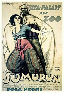 <i>Sumurun</i> 1920 film