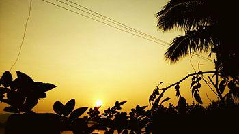 Sunrise in a village.jpg