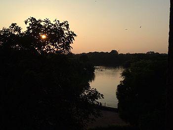 Sunset at Hauz Khas Lake 2.jpg