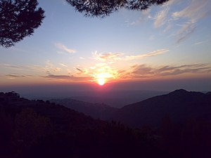 Sunset view from Maghareek in Jbaa - Nov 09 - panoramio.jpg