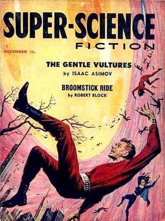 The Gentle Vultures - Image: Super science fiction 195712