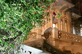 Sursock Museum - The marble stairs of the museum