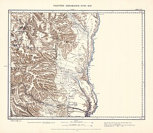 Jalud - Image: Survey of Western Palestine 1880.15