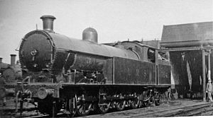 0-8-4T - LNWR 380 Class 7941 at Swansea Paxton Street depot in 1946