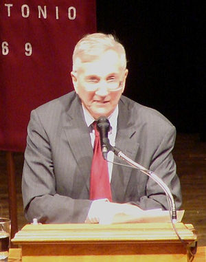 Seymour Hersh, at Trinity University, San Anto...