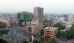 Zentrum von Sylhet