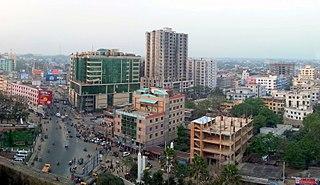 Sylhet Metropolis in Sylhet Division, Bangladesh