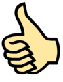 Symbol thumbs upcolor.png