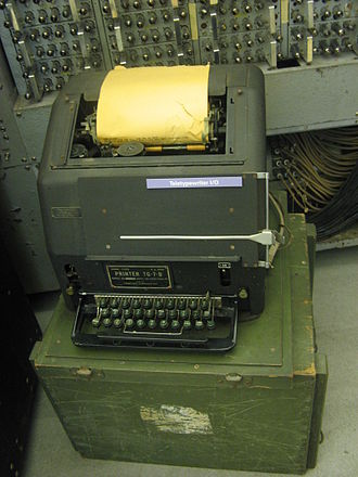Teletype Corporation - A military version of the Model 15