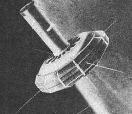 Artist's impression of TRAAC in orbit