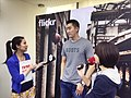 TVBS News and CTV News at Flickr 3.0 press conference 20140430 5.jpg